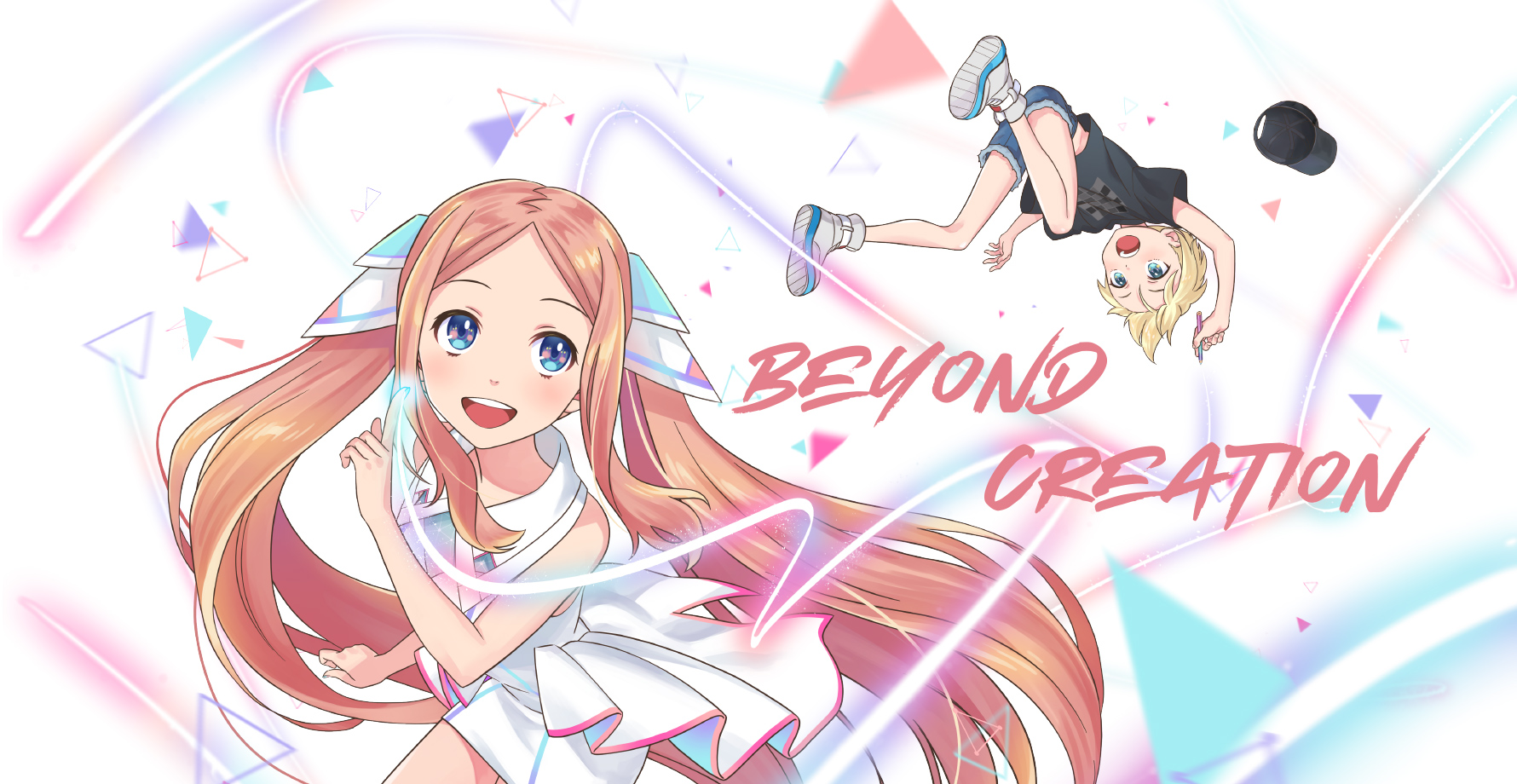 Live2D オリジナルショートアニメーション 『Beyond Creation』