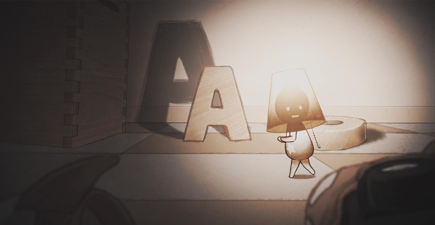 Live2D オリジナルショートアニメーション 『The Lamp Man』
